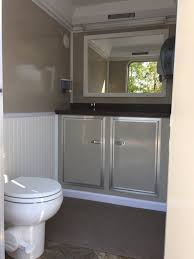 Bathroom Trailer Rental Cool Restroom Trailers Portable PortaJohns Carmichaels PA