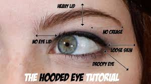 hooded eye trick for loose skin on the eyes lift the eyes