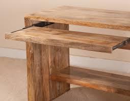 elegant wood computer desk
