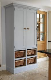 freestanding pantry cabinet traditional kitchens space