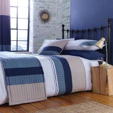 catherine lansfield home new york pleated panel duvet cover set pertaining to awesome household blue duvet cover designs