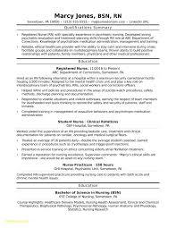 Student Nurse Resume Example Best Of Travel Nurse Resume Examples