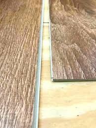 tongue and groove ends of vinyl plank flooring how to lay