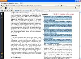 importing references from text to a journal reference manager step 1