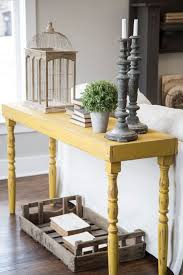 Decorating Console Table Ideas Decorating Console Table Ideas Image Of Rustic Console Table