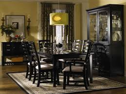 Tall Dining Room Sets Traditional Espresso Dining Room Furniture Design In Chocolate