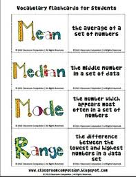 Mean Median Mode Anchor Chart Mean Median Mode Range Pack Math Centers Flashcards Anchor Charts
