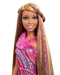 Barbie Hairstyles 35 Wonderful BARBIE Hair Tattoos™ Doll African American