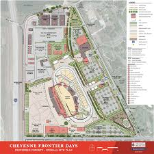 Frontier Park Seating Chart Master Land Use Plan Cheyenne Frontier Days