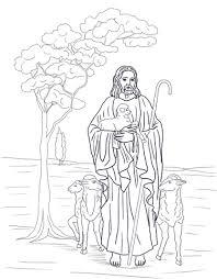 Jezus Is Onze Herder Kleurplaat Gratis Kleurplaten Printen