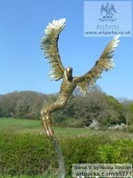 bronze garden statues bronze sculpture statuettes sculpture by sculptor titled v bronze bronze fairy garden ornaments