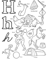 Small Picture H Is For House Coloring Page Twisty Noodle Coloring Coloring Pages