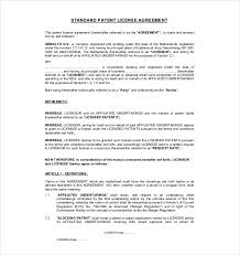 Artist Licensing Agreement Template 13 License Agreement Templates