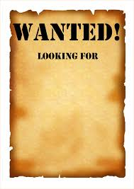 Free Wanted Poster Template 24 wanted poster template free Outline Templates 1