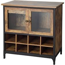 cabinet. Better Homes And Gardens Rustic Country Wine Cabinet, Pine Cabinet