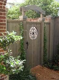 small garden gates wooden garden gate