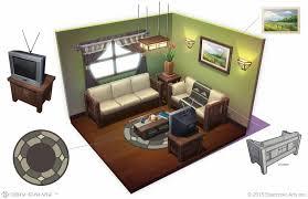 Sims Interior Design Game The Sims 4 Concept Art By Deiv Calviz Simsvip Concept