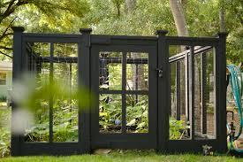 diy custom vegetable garden fence