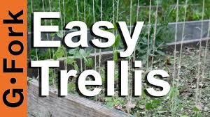 Rope Trellis Designs How To Make A Trellis Gardenfork Tv