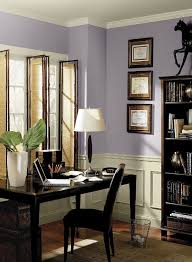 color for home office. Fabulous Home Office Room Painted With Thistle Color Ideas Combined  Black Desk And Chair For Home Office Y