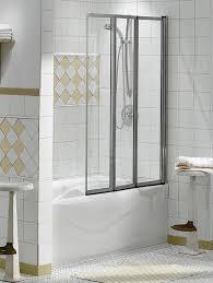 shower enclosures sliding tub doors 3 folding panel keystone