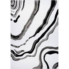 ladole rugs calvin white black abstract area rug 2 x 3 3 door mats best canada