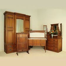 edwardian mahogany bedroom furniture. arts \u0026 crafts oak bedroom suite -wardrobe, dressing chest, washstand, firescreen edwardian mahogany furniture
