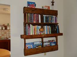 Pallet Wall Bathroom Furniture Simple Style Diy Bathroom Shelf From Pallet Wood With