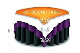 best size tablecloth for 48 inch round table round tablecloth size tablecloth for 48 round table