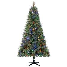 Christmas Tree With Changing Lights Home Christmas 2019 Fir Christmas Tree Cashmere