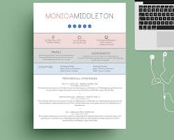 Graphic Resume Templates Word