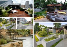 Small Picture Modern Landscaping Ideas racetotopCom
