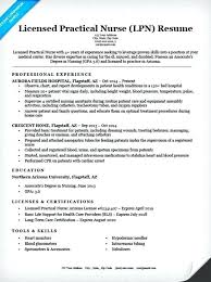 Resume Sample Entry Level Licensed Practical Nurse Resume Sample