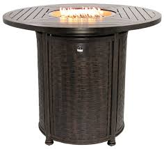 series 4000 50 round bar height fire table bar height fire table fire pits fire table