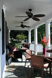 patio ceiling fans. Porch Ceiling Fan Front With Fans And Wicker Furniture Contemporary Outdoor Patio Lights