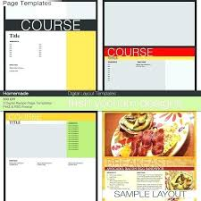 Homemade Cookbook Template Recipe Book Page Template Mymuso Co