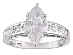 image unavailable image not available for color 10k wg 3 92ctw bella luce diamond simulant ring