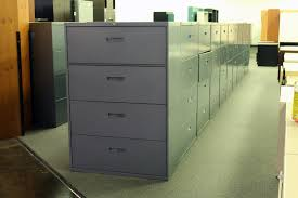 lateral file cabinet 4 drawer. Steelcase 4 Drawer Lateral File Cabinet \u2013 Gray