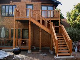 contemporary images of home exterior decoration with wood outdoor staircase classy home exterior decoration using