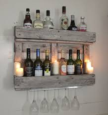 reclaimed wood furniture ideas. wine rack mini bar rustic shabby chic reclaimed woodhand maderecycled wood furniture ideas e