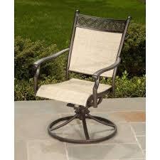 outdoor sling swivel rocker patio chair chairs menards