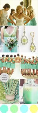 Wedding Colors I Love | Shades of Mint, Green, Aqua + Yellow! http