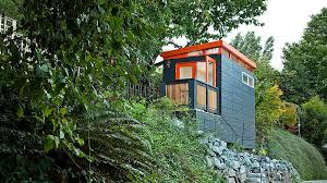 A U201cSmallu201d Shed By ModernShed Sits On A Forest Hill Courtesy Of