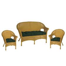 wicker patio furniture cushions garden chair porch