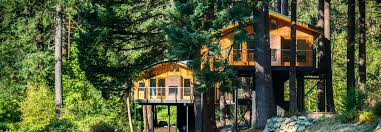 Columbia Gorge Lodging Skamania Lodge Tree Houses Double