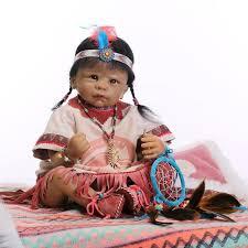 Dream Catcher Dolls Nicery 100inch 100cm Bebe Reborn Doll Indian Style Soft Silicone Boy 69
