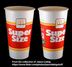mcdonalds supersize drink. Fine Drink McDonaldu0027s  Super Size Drink Soda Cup Package Circa 1987 Soda Cup Retro  Food And Mcdonalds Supersize Drink C