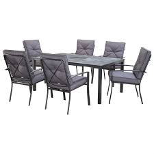 marquee 7 piece florida dining setting