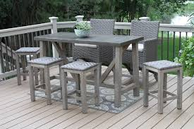 furniture delightful patio bar height table and chairs outdoor bar table and stools uk