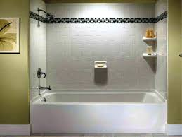 one piece tub shower units ideas tiled wall panels beautiful bathroom and inserts just with diy